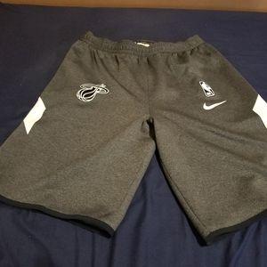NWT NIKE Miami Heat Authentic NBA Dri-Fit Shorts